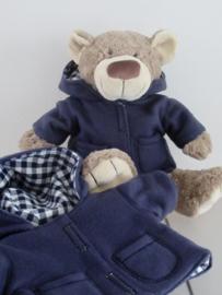 Winterjas, muts, sjaal en wanten voor beer Bella
