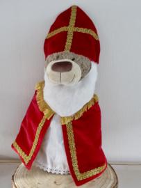 Outfit Sinterklaas voor beer Bella