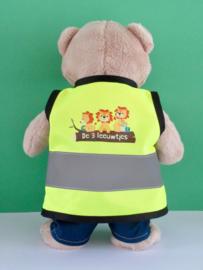 Veiligheidshesje met logo voor Kiki