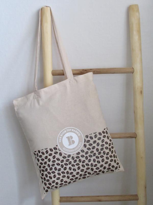 Katoenen tas met eigen opdruk