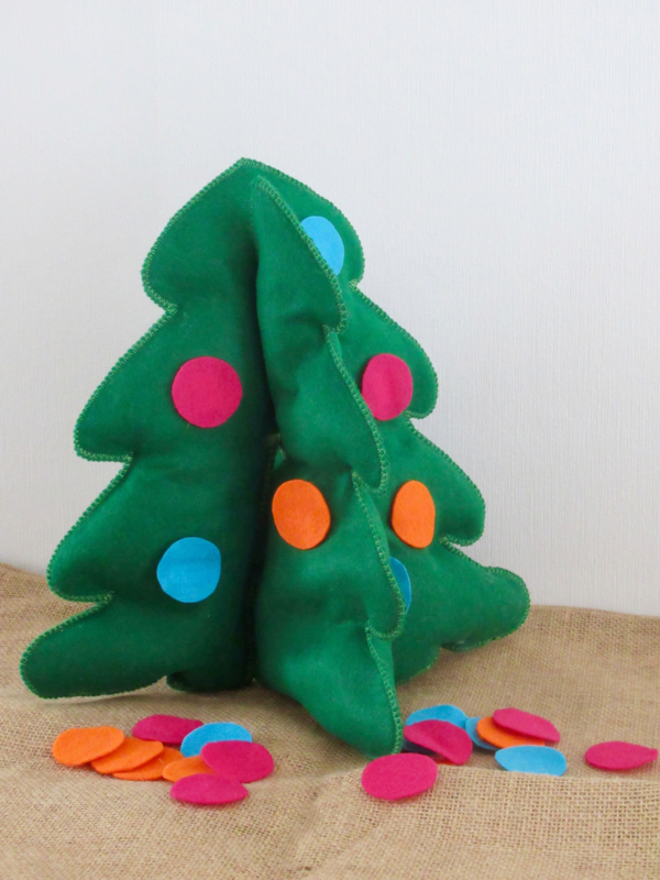 Kerstboom gekleurde ballen | Beer Kiki