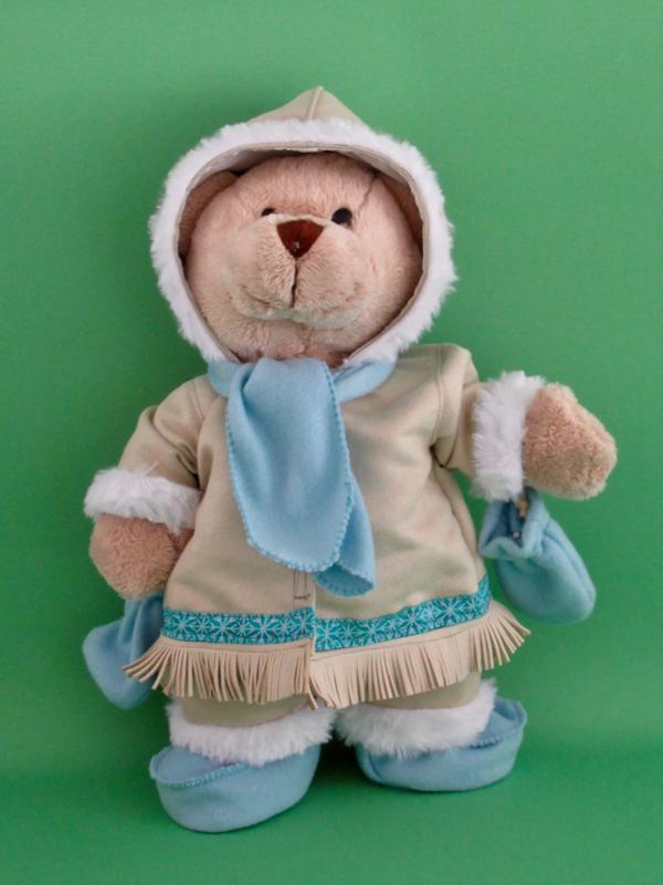 Kledingset Eskimo voor Kiki