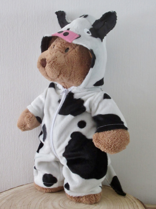 Beer Kiki als koe