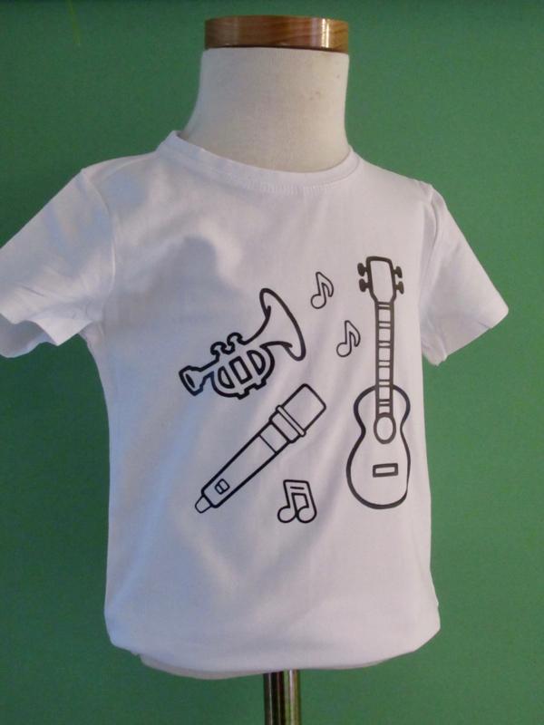 Shirts voor partijtje ( inkleuren)