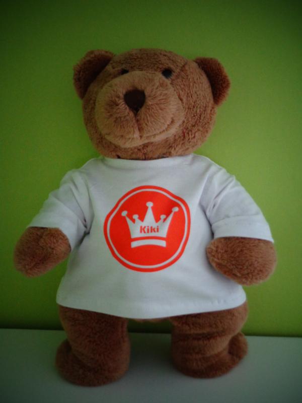 Shirt met kroon   Beer Kiki