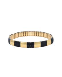 Gigi Black gold bracelet