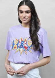 Shirt H & Y  lilac
