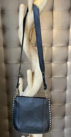Stud bag black gold