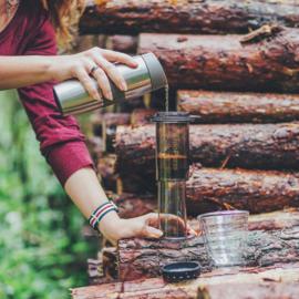 Aeropress + Rhinowares Hand Coffee Grinder