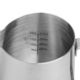 Rhinowares RVS Pro melkkan- zilver 600 ml