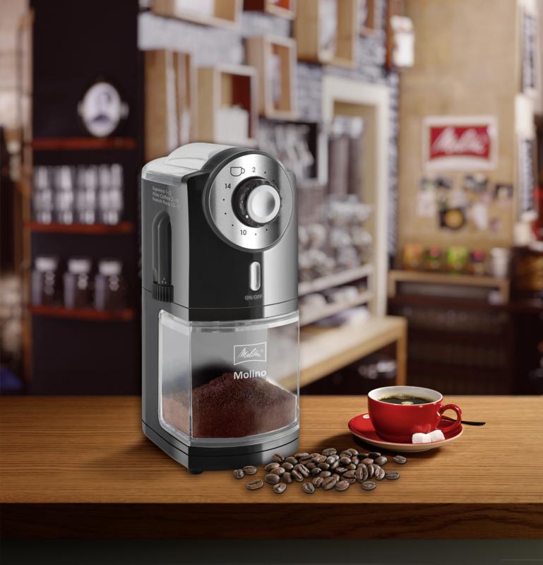 MELITTA MOLINO COFFEE GRINDER BLACK