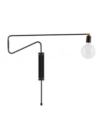 Swing wandlamp - zwart