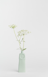 Bottle vase - dusty mint #18