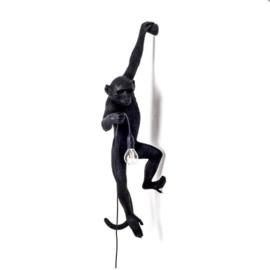 Monkey lamp hangend - zwart