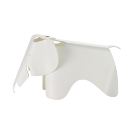 Eames Elephant (small) - wit