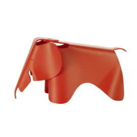Eames Elephant (small) - rood