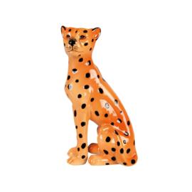 Kandelaar luipaard rechts