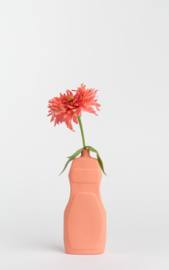 Bottle vase - salmon #19