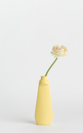 Bottle vase - warmgeel #4