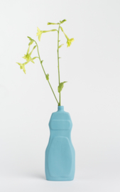 Bottle vase - bright sky #19