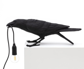 Bird lamp - Playing (zwart)