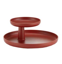 Rotary tray - donkerrood