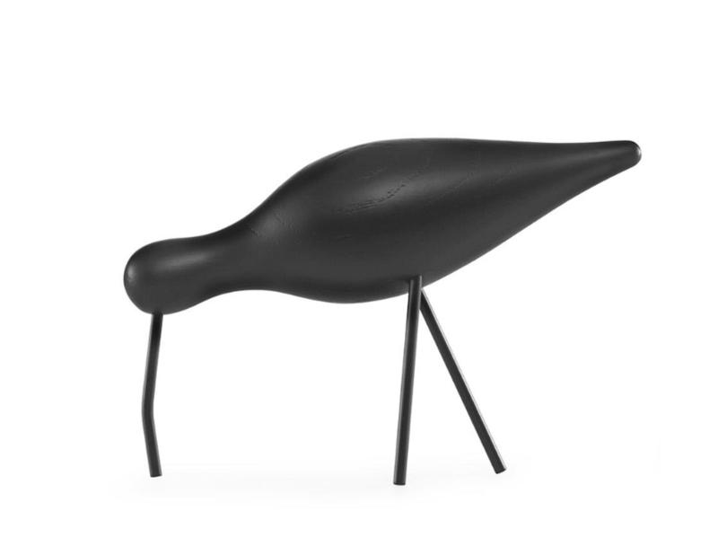 Shorebird Large zwart/zwart