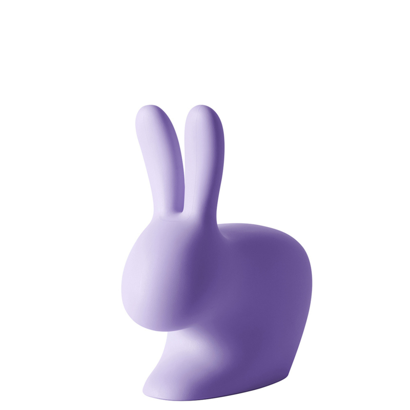 Rabbit chair baby - paars