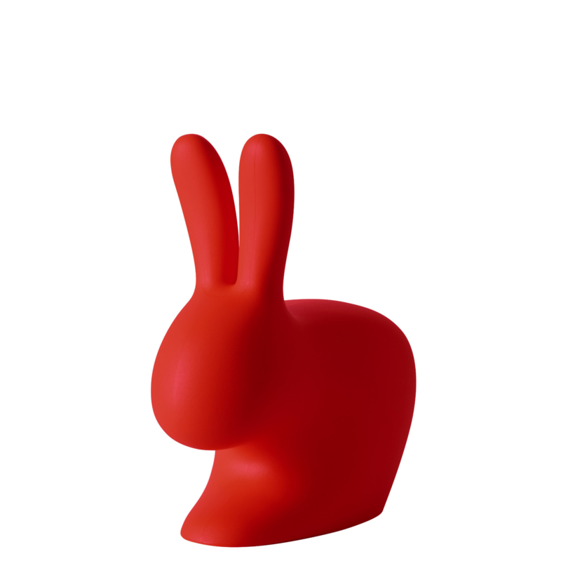 Rabbit chair baby - rood