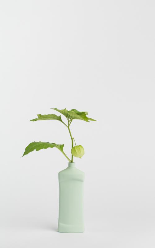 Bottle vase - mint #14