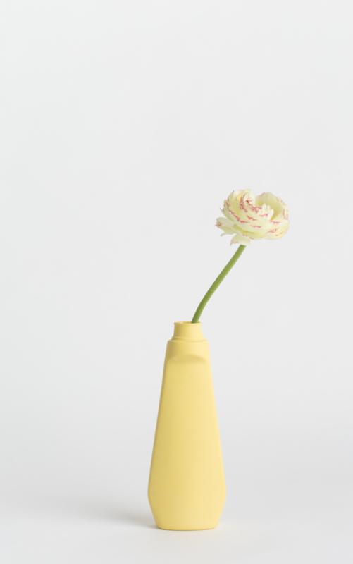 Bottle vase - warmgeel #4