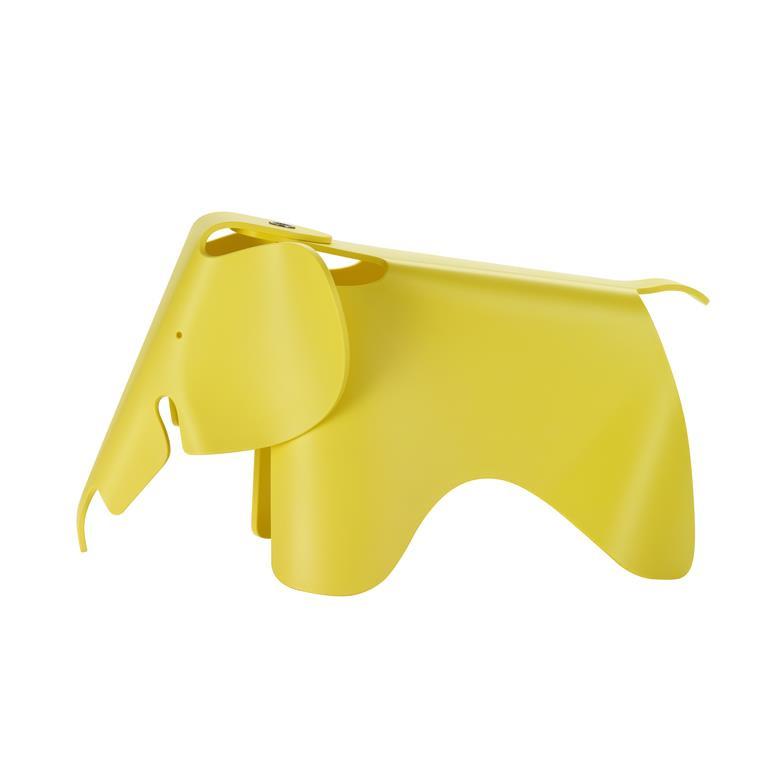 Eames Elephant (small) - geel