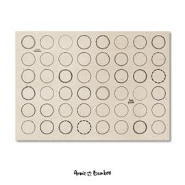 Stickervel - Tekstkaders kraft