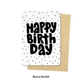 Ansichtkaart - Happy Birthday