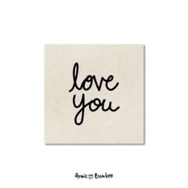 Minikaartje - Love you