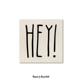 Minikaartje - Hey!