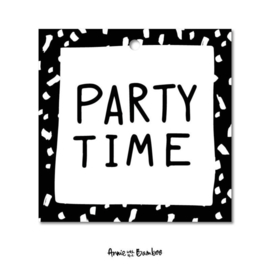 Cadeaulabel - Party time