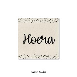 Minikaartje | Hoera