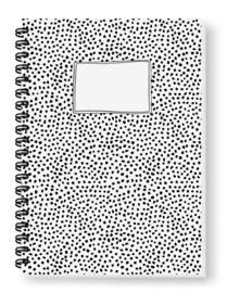 Blanco fotoboek -Stipjes (A4)