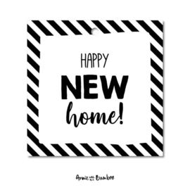 Cadeaulabel - Happy new home!