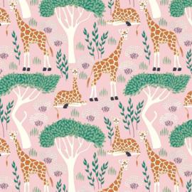 Inpakpapier 'Jungle Giraf' 30 x 300 cm