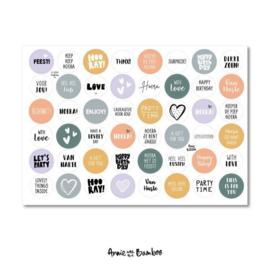 Stickervel - Cadeaustickers 07