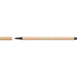 Viltstift Stabilo Point 68/88 licht oker