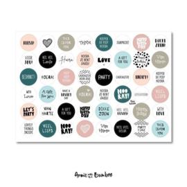 Stickervel - Cadeaustickers 03