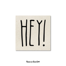 Minikaartje | Hey!