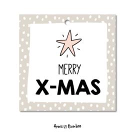 Cadeaulabel - Merry X-MAS