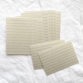 Tekstkaartjes - PaperWise (12 stuks)