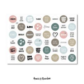 Stickervel - Cadeaustickers 06