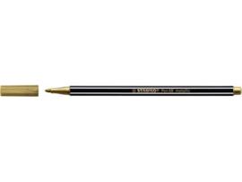 Viltstift Stabilo 68/810 metallic goud