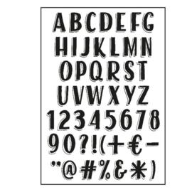 Stempels alfabet VINTAGE